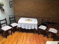 Solid wood table in excellent condition  Baltimore, 21217