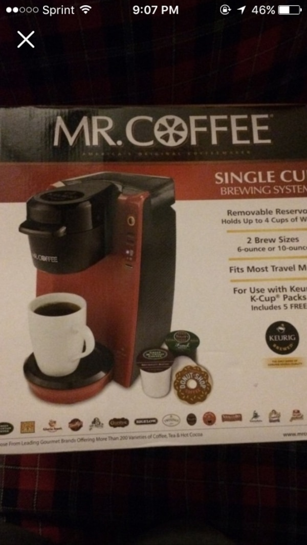 Used Mr Coffee Single Cup Brewing System For Sale In Austell Letgo