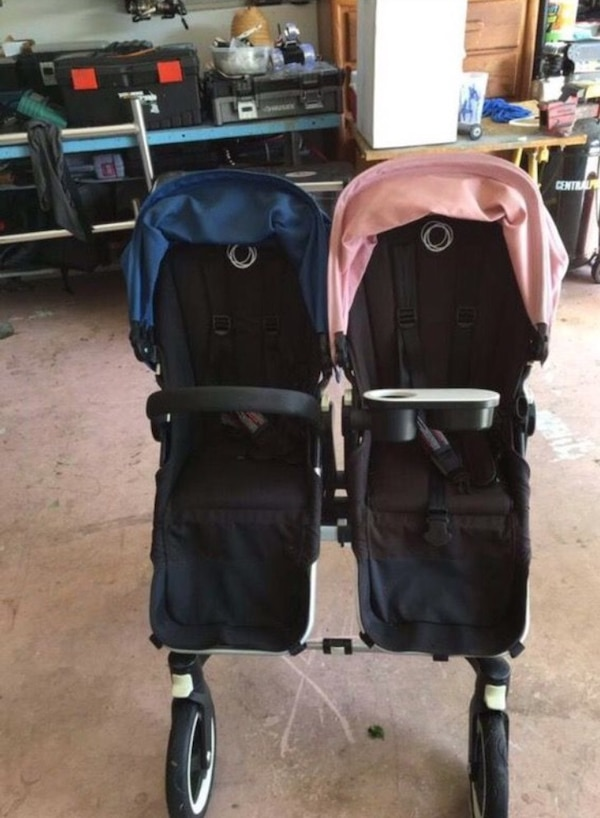 Bugaboo Donkey Double Stroller With Accessories