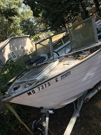 Lone Star 16' Boat with Trailer and 2 engines