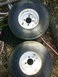 trailer size tires 5.70 x 8   one set