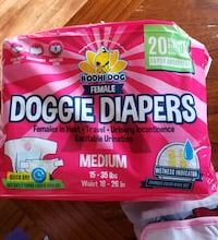 Female dog diapers  Hagerstown, 21740