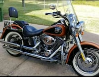 2008 Harley Davidson Softail Deluxe Combes