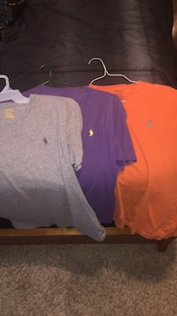 Kids polo t-shirts. Size small