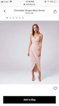 Women's peachy pink sleeveless dress Burnaby, V5J 2C8