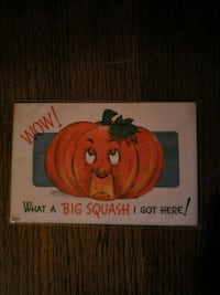 Halloween Pumpkin Postcard Burlington, L7M 4R2