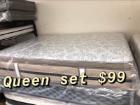 Queen set $99 Baltimore, 21231