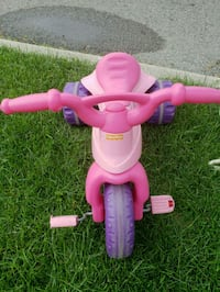 toddler's pink and yellow trike Toronto, M6N 2P4