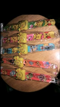 20 new SLAP watch BRACELETS Pokemon