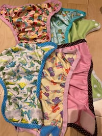 Cloth diaper extras