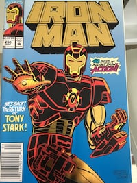 Marvel Iron Man special issue