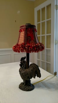 Rooster Lamp Chesterfield