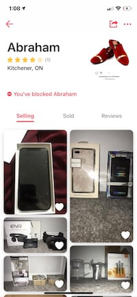 NOT SELLING - SCAM ALERT IPHONE X Kitchener, N2K 1G1