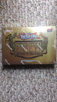 Yugioh premium gold return of the bling 1st edition NIB Broken Arrow, 74014