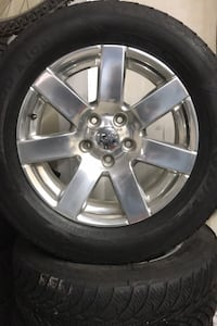 Jeep Wrangler or Grand Cherokee winter tires and rims