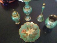 Brass pieces asking 50.00 for the whole set Syracuse, 13208