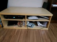 VERY NICE 2 YEAR OLD WOODEN TV STAND  Montreal, H9H 1E3