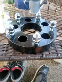 New 1.25 inch wheel spacers