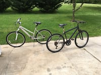 (2) bikes 10 speed & 21 speed  Middletown, 21769
