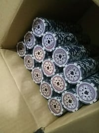 Poker chips for sale    new