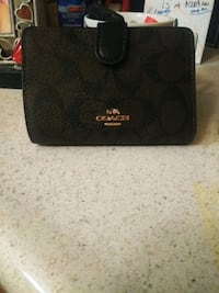 brown Coach leather wallet  Bakersfield, 93306
