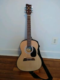 brown and black acoustic guitar East Riverdale, 20737