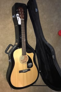 Guitar fender electric acoustic!