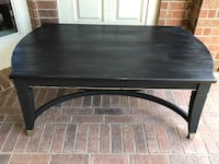 Black solid wood coffee/cocktail table Pearland, 77584