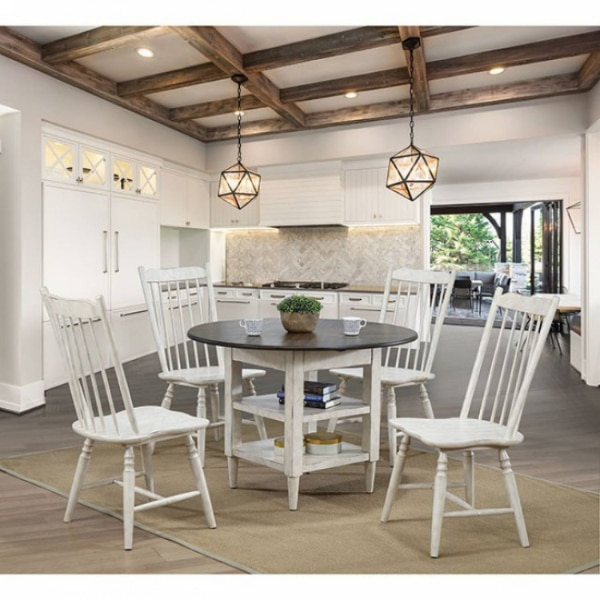 Used Ann Lee Round Table Dining Set