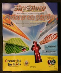 Sky Diver Paper Airplane Kit by Creativity for Kids * discontinued Martinsburg, WV, USA, 25401