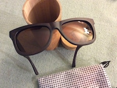 Bamboo sunglasses brand new