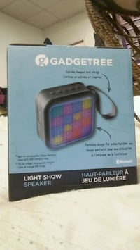 black Gadgetree light show speaker box Winnipeg, R3E 0A9