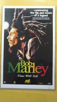 1991 Bob Marley Time Will Tell Reggae Movie Poster Waynesboro, 17268