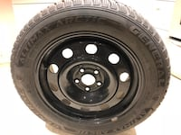 Winter tires with rim - 235/55 R17  Mississauga, L5L 0A4