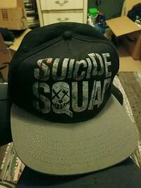 black and gray Suicide Squad snapback cap Boonsboro, 21713