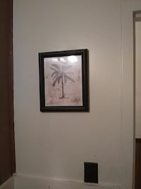 banana tree painting with brown frame Sheffield, 35660