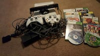 white Xbox 360 console, controllers, and cases Atlanta, 30340