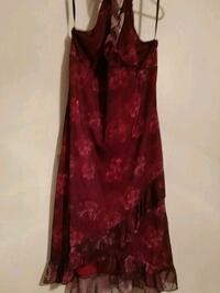 red and black floral spaghetti strap dress Ocean Springs, 39565