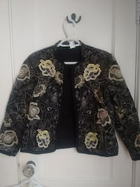 black and white floral long sleeve shirt Toronto, M6P