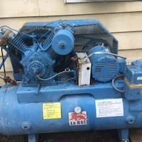 3 phase air compressor PLAINFIELD