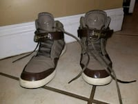 pair of black-and-brown leather sandals Jacksonville, 32224