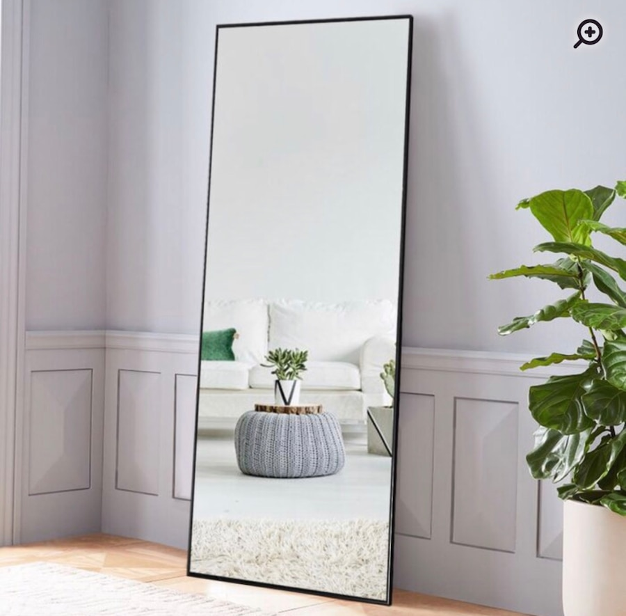 Photo Chevelle Full Length Floor and Wall Mirror