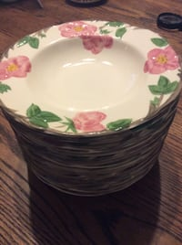 JUST REDUCED  price per item Desert Rose by Franciscan made in England eat out bowls not duplicated
