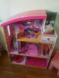 pink and white doll house Calgary, T3J 3M6