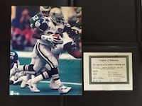 Emmitt Smith - autographed pic Cary, 27519