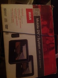 """7"""" RCA Mobile DVD system"""