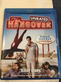The Hangover unrated blu ray