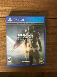 Mass effect Andromeda deluxe edition ps4 oyun