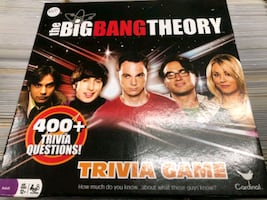 Big Bang Theory Trivia Game $16