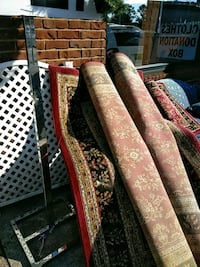 2 large and one small matching rugs all for the pr Moulton, 35650